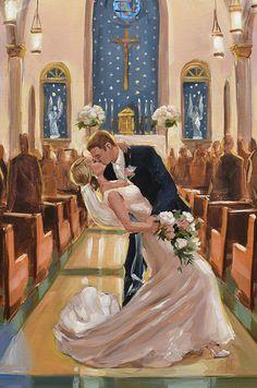 Wedding Goals, Wedding Art, Wedding Couples, Wedding Ceremony, Dream Wedding, Reception, Wedding Ideas, Wedding Painting, Back Painting