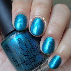 OPI Austin-tatious Turquoise