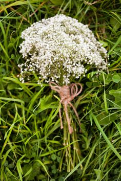 Baby's Breath and twine