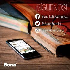 Queremos mantenernos conectados! Siguenos y enterate como darle lo mejor a tus pisos de madera. Www.bona.com #Bona #siguenos