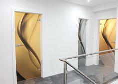 sklenené dvere Luglass