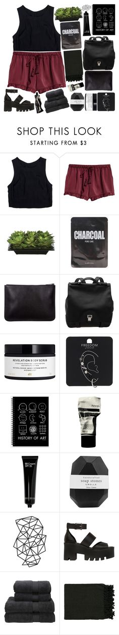 """""""drunk & romantic."""" by starryeye-s ❤ liked on Polyvore featuring Lush Clothing, Lux-Art Silks, Proenza Schouler, H&M, Topshop, Aesop, Bobbi Brown Cosmetics, Pelle, WALL and Windsor Smith"""