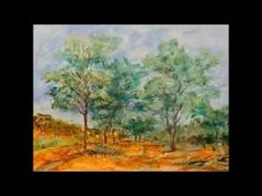2015 Watercolor Retrospective: The Year in Paintings by Angela Fehr - YouTube