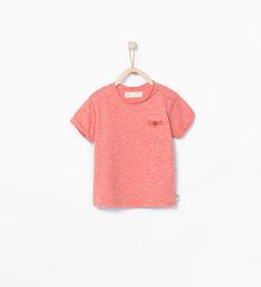 T-shirt with pocket from Zara