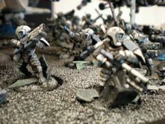 Conversion, Fire Warriors, Tau, Troops, Warhammer 40,000
