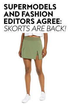 This divisive 1990s trend is having a resurgence, and after testing it myself, I'm staunchly pro. #skorts #fashion #summerfashion