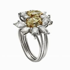 Crossover Ring, Engagement Rings, Floral, Jewelry, Jewellery Making, Wedding Rings, Jewerly, Jewelery, Commitment Rings
