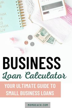 If you are starting a business and need capital, then consider getting a small business loan. Our small business loan calculator can tell you immediately what your monthly and total payments and interest will be! Check out our complete guide. #smallbusiness #entrepreneur #womeninbusiness #smallbusinessloan#startup Start Online Business, Sell Your Business, Business Ideas, Small Business Entrepreneurship, Loan Calculator, Business Checks, Earn Money Online, Spa, Make Money Online