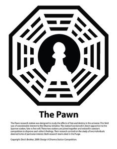 The Pawn, DHARMA Initiative Station – Entry in the Design a DHARMA Station Competition. Very interesting fanfic.