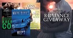 ends 10/29 #Romance #Giveaway – #Win 3 Romance Novels! #MayaBanks #GenaShowalter #KresleyCole #FREEbooks
