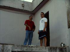 Paulinho em casa de Moasir  2004