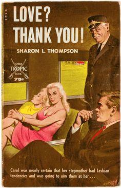 | Love? Thank You! | | vintage pulp fiction artwork |