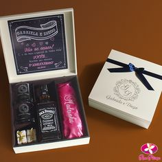 Whisky, Gift Boxes For Women, Baby Gift Box, Godparent Gifts, Gift Box Packaging, Dad Day, Kit, Party Time, Wedding Invitations