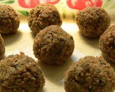 Homemade Meatless Meatballs (Vegan, made with TVP)