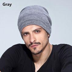 Mens knit hat for winter wear beanie hats