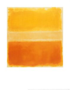 Yellow and Gold by Mark Rothko