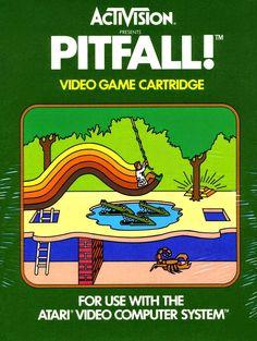 Foto: Dia 20 de Abril de 1982 nascia uma das maiores lendas da História dos Videogames, um dos maiores sucessos da Activision e um dos maiores hits do Atari 2600, PitFall!.  Um dos meus games favoritos, sempre jogo quando pego meu Atari 2600. Foi um dos primeiros games que conheci do console e um dos primeiros a entrar para minha coleção, há 15 anos.  Tenho muito orgulho dele fazer parte da minha adolescência e me divirto muito até hoje com ele! =D