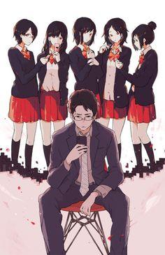 小学館『自殺志願』(著:野島伸司 ) 装画 Official cover illustration for the novel published by…