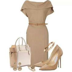 Olivia Pope Style. Neutral goodness!  -Prep 101 Fashion Book