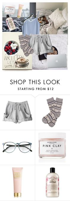 """""""Без названия #35"""" by hotsuin ❤ liked on Polyvore featuring MTWTFSS Weekday, adidas, Barbour, Herbivore, Estée Lauder and philosophy"""