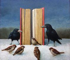 Guardians of the free word oil painting Ton van Steenbergen