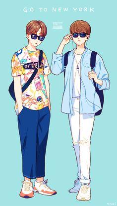 Los dos Gentlemen de E.E.U.U. Vernon y Joshua #SEVENTEENMANIA