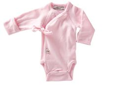 999891755 Little Sprout Collection ~ Organic Preemie Clothing ~ Light Pink Long  Sleeved Onesie Preemie Babies,