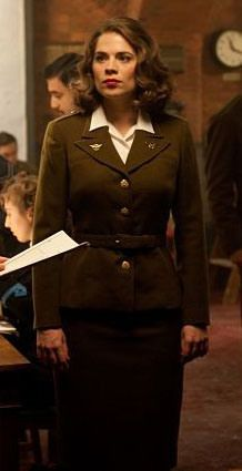 costume plot agent peggy carter from captain america the first avenger