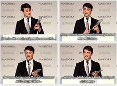 daniel radcliffe - acceptance speech for The Man of the Year Glamour award 2013