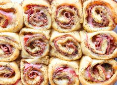 23 Amazing Things To Do With Crescent Rolls. If you have one ingredient on hand at all times, it should totally be crescent rolls.​ http://www.delish.com/cooking/recipe-ideas/g3332/crescent-roll-recipes/