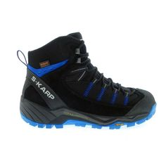 S-KARP Explorer RS, Black/Blue, outdoor footwear, trail shoes, outdoor boots Trail Shoes, Trekking, Hiking Boots, Footwear, Urban, Sneakers, Casual, Blue, Outdoor