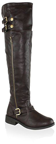 Olivia Miller Womens Lafayette Boot Brown 6 M US -- Check this awesome product by going to the link at the image.