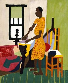 Woman Ironing | Smithsonian American Art Museum