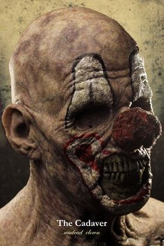 Scary Clowns, Spooky Scary, Halloween Masks, Halloween Makeup, Zombies, Cool Motorcycle Helmets, Espanto, Mask Painting, Silicone Masks