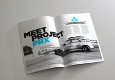 Project PRX Magazine by Jonathan Quintin, via Behance