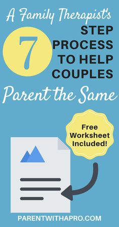 Episode The 7 Step Process Therapist's Use to Help Couples Parent the Same Parenting Toddlers, Good Parenting, Parenting Hacks, Parenting Strong Willed Child, Positivity, Couples, Parents, Private Practice, Adhd