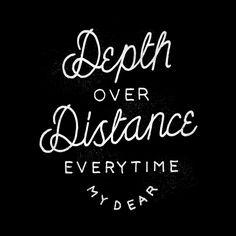Depth Over Distance - Ben Howard by Joshua Noom, via Behance