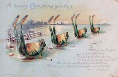 Victorian Christmas Cards That Are As Creepy As Those Times Themselves