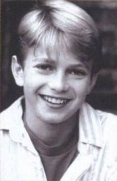 little hayden Christensen :) hes so cute
