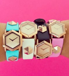 Candy color watches