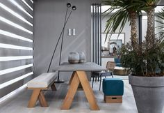 Blend Collection by Andrea Parisio for Meridiani - Perfect for an elegant and functional outdoor.