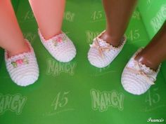 Zapatillas crochet Nancy