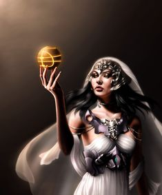 Juno (Holding the Apple Of Eden) ~ Artwork By: Gothic-Icecream on DeviantArt