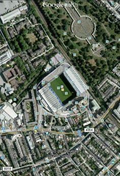 London,  Fulham Road - Stamford Bridge #ChelseaFC