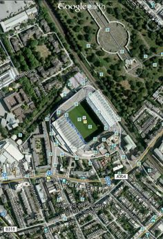 London,  Fulham Road - Stamford Bridge #ChelseaFC