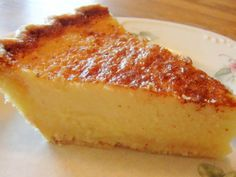 Buttermilk Pie with Pecan Crust | All About Cuisines  See this and other gluten fre recipes at http://www.allaboutcuisines.com/festive-recipes/gluten-free #gluten free food #gluten free recipes