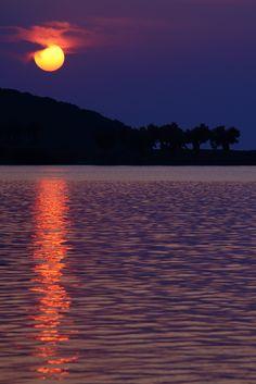 Surreal Sunset by Elios Katsouras