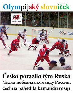 Hokejová fráze z olympiády