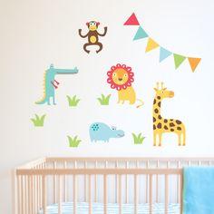 Jungle Gang Wall Stickers