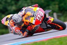 Márquez collecte de précieuses données à Brno  #Honda #MarcMarquez #Motogp